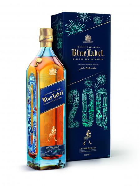 Johnnie Walker Blue Label 200 Jahre Edition