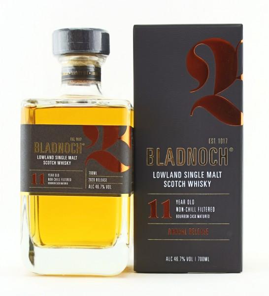 Bladnoch 11 Jahre Bourbon Cask 2020 Release