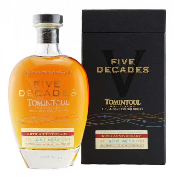Tomintoul Five Decades 2015 50% 0,7l
