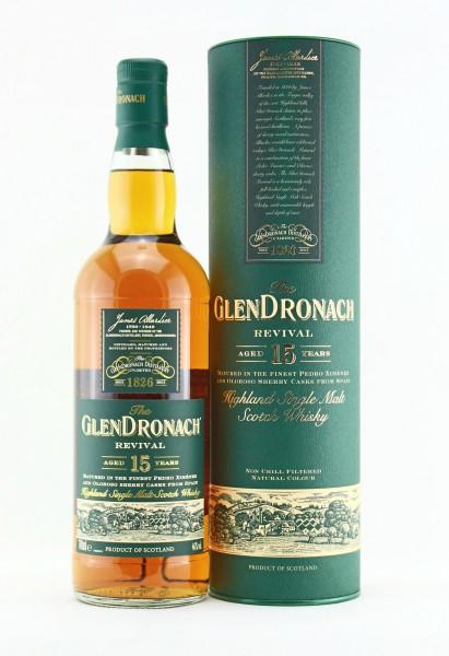 Glendronach 15 Jahre Revival