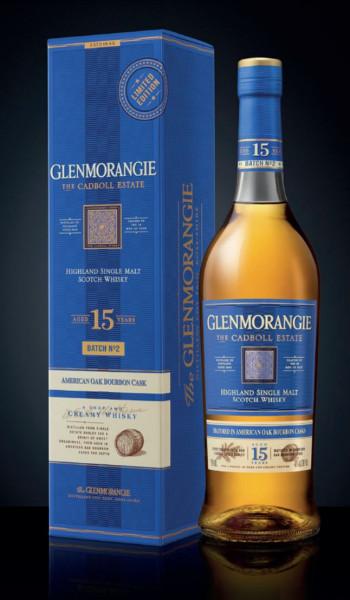 Glenmorangie 15 Jahre THE CADBOLL ESTATE Batch No. 2