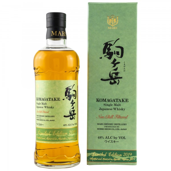 Mars Komagatake Single Malt Limited Edition 2019