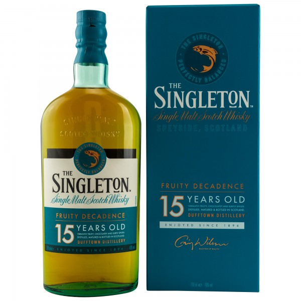 The Singleton of Dufftown 15 Jahre