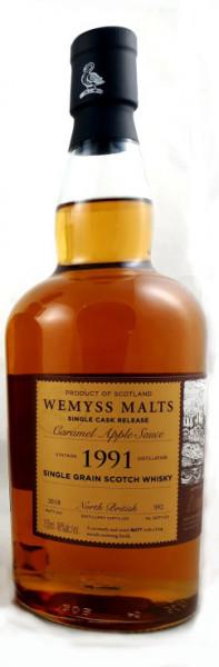 North British 27 Jahre 1991 Caramel Apple Sauce Wemyss Malts