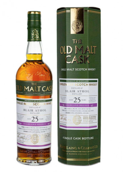 Blair Athol 25 Jahre 1995 - 2021 Old Malt Cask Hunter Laing