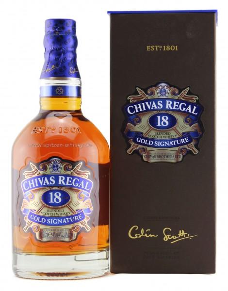 Chivas Regal 18 Jahre 40% 0,7l
