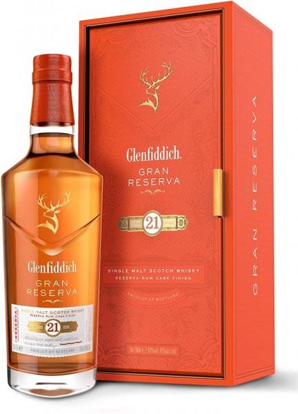 Glenfiddich 21 Jahre Gran Reserva Rum Cask Finish