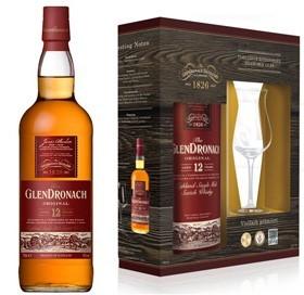 Glendronach 12 Jahre mit 1 Nosingglas