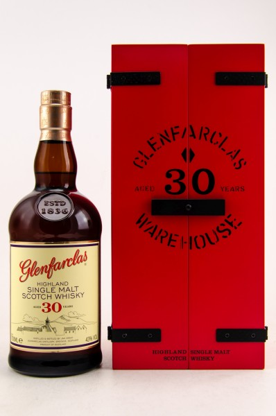 Glenfarclas 30 Jahre Warehouse