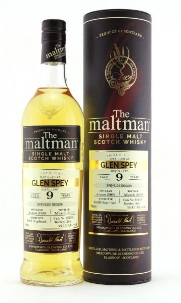 Glen Spey 9 Jahre 2009 - 2019 Maltman