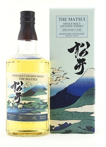 Matsui Single Malt Whisky Mizunara Cask