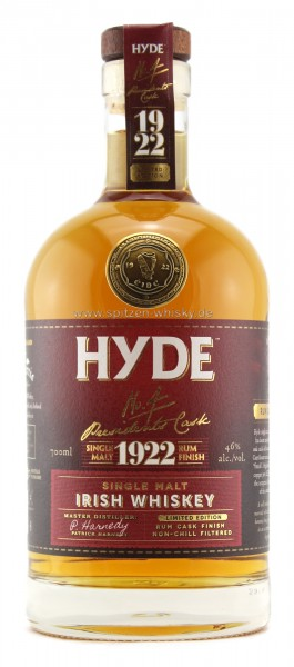 Hyde No. 4 Rum Finish 6 Jahre
