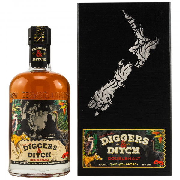 Diggers & Ditch Double Malt Blend The New Zealand Whisky Collection