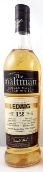 Ledaig 12 Jahre 2007 - 2019 Maltman
