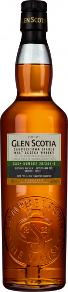 Glen Scotia 2013 - 2021 1st Fill Tawny Port Hogshead #20/304-6