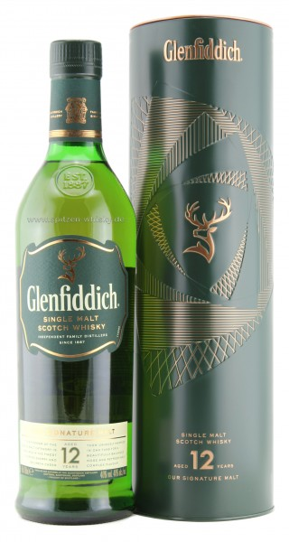 Glenfiddich 12 Jahre in Metalldose