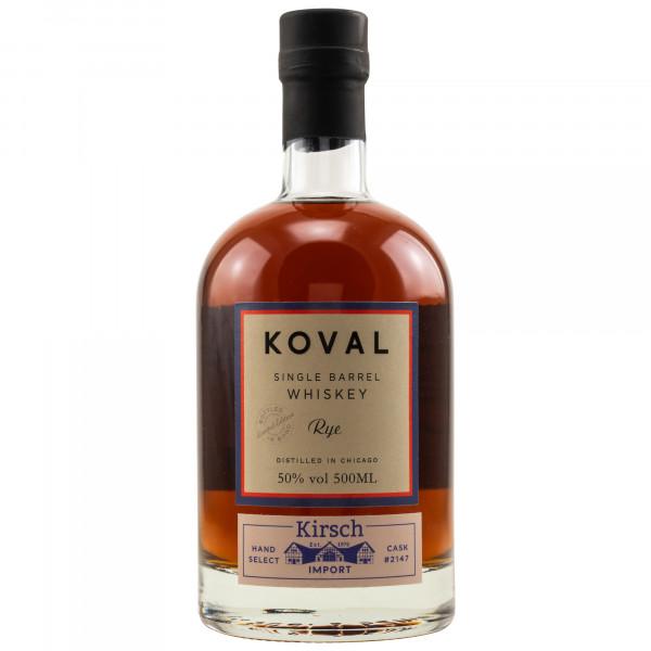 Koval Rye Whiskey -Bottled in Bond - for Kirsch