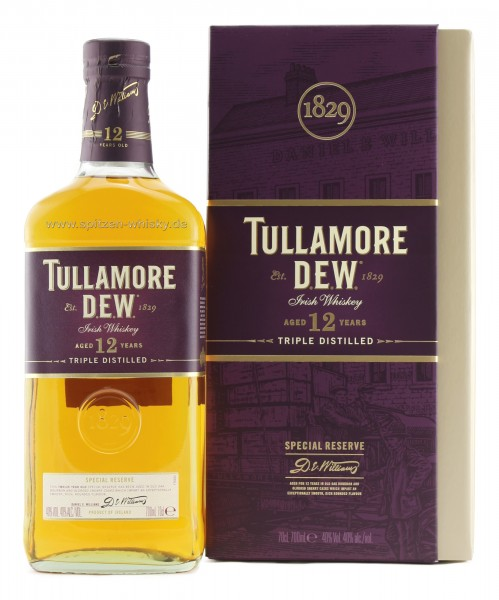 Tullamore Dew 12 Jahre Special Reserve 40% 0,7l