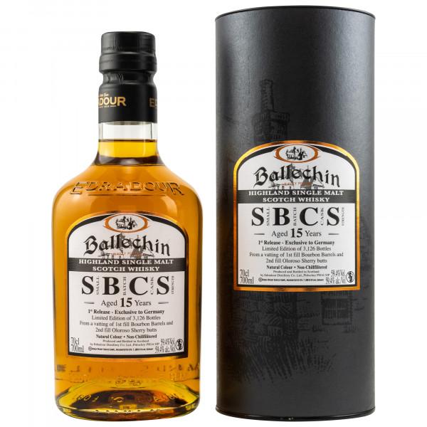 Ballechin 15 Jahre Small Batch Cask Strength 1st Release