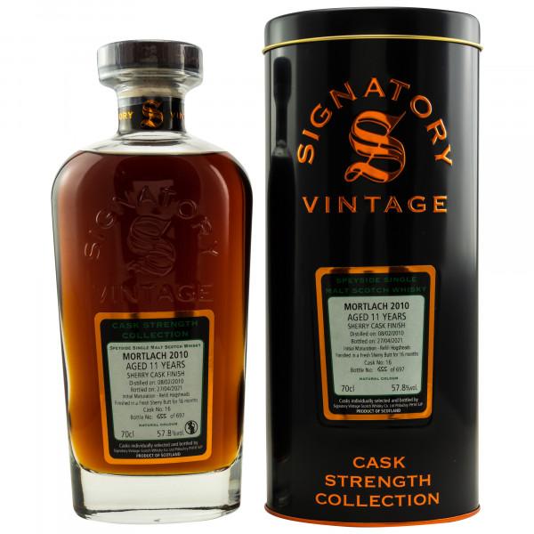 Mortlach 11 Jahre 2010 - 2021 Signatory Vintage