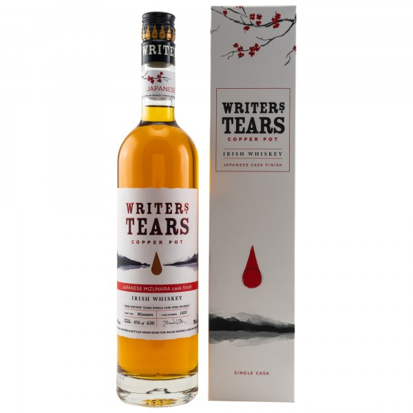 Writers Tears Japanese Mizunara Cask