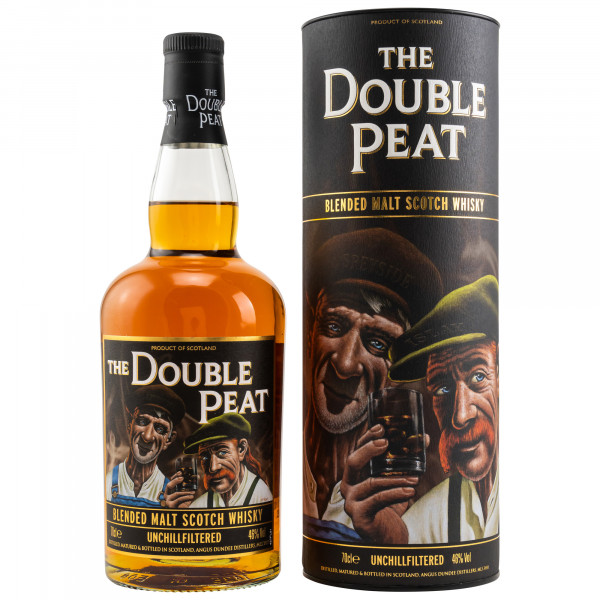 The Double Peat Blended Islay and Speyside Malt Whisky