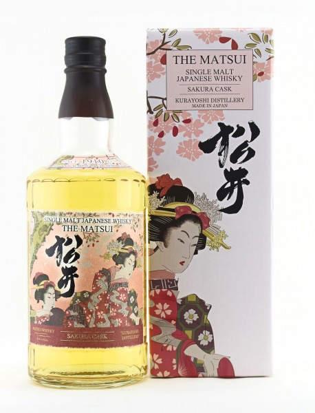 Matsui Single Malt Whisky Sakura Cask
