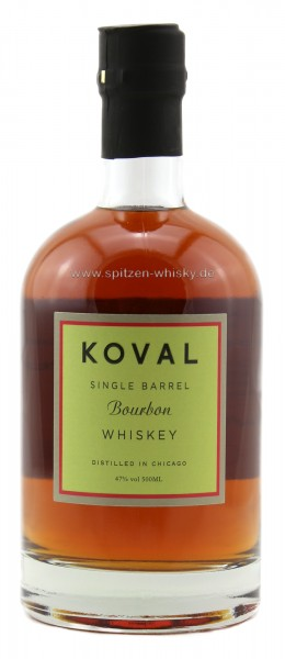 Koval Single Barrel Bourbon Whiskey