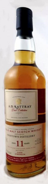 Dufftown 11 Jahre  2009 - 2021 Cask Collection A.D. Rattray