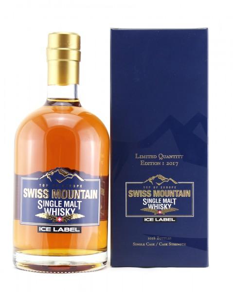 Swiss Mountain Single Malt Whisky Ice Label Edition I 2017