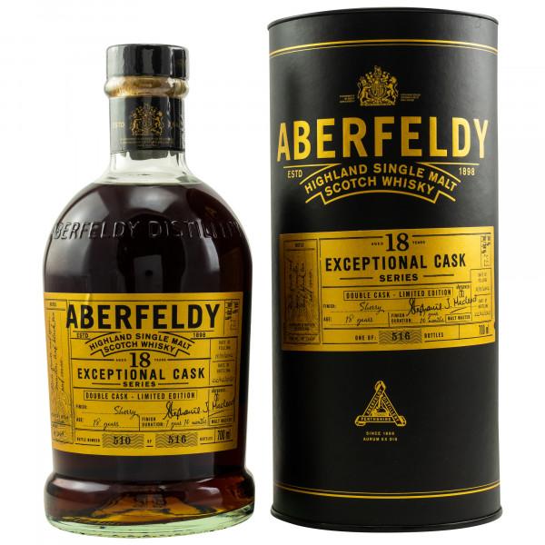 Aberfeldy 18 Jahre 2002 - 2021 Exceptional Cask Series