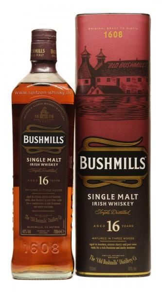 Bushmills 16 Jahre Three Woods
