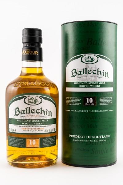 Ballechin 10 Jahre Heavily Peated