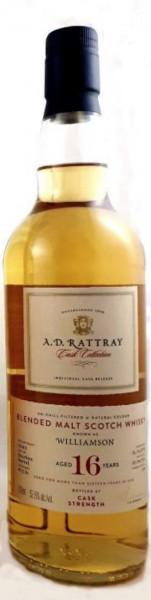 Williamson 16 Jahre 2005 - 2021 A.D.Rattray