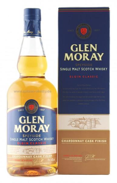 Glen Moray Chardonnay Cask Finish 40% 0,7l