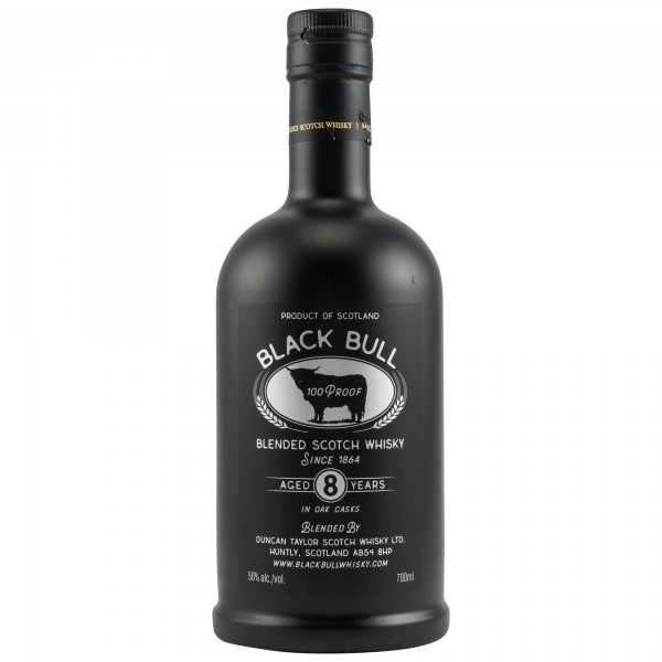Black Bull 8 Jahre Retro Design