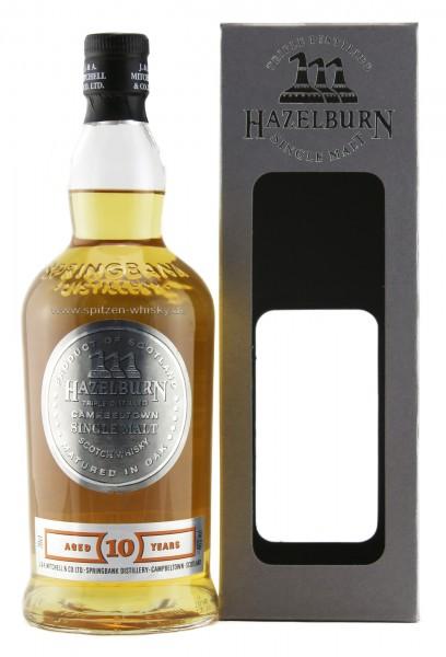 Hazelburn 10 Jahre 46% 0,7l