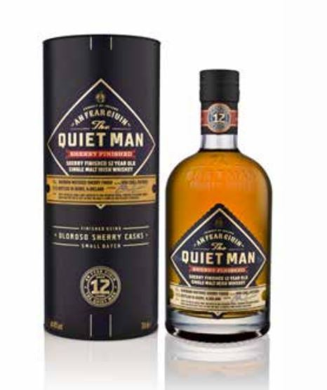 The Quiet Man 12 Jahre Small Batch Sherry Finished