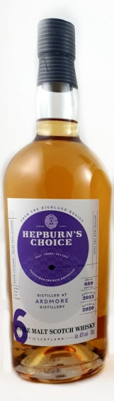 Ardmore 6 Jahre Hepburn's Choice Hunter Laing