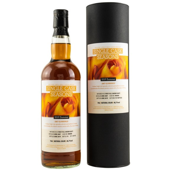 Glenburgie 12 Jahre 2007 Single Cask Seasons Sommer 2019