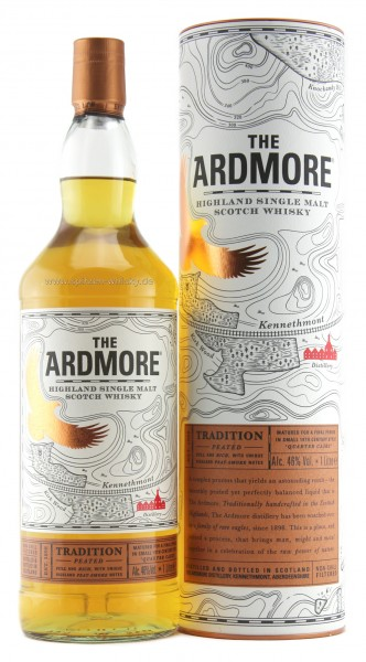 Ardmore Tradition Peated 40% 1l