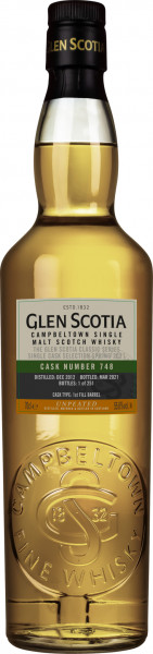 Glen Scotia 2012 - 2021 1st Fill Bourbon Barrel #748