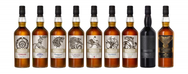 Game of Thrones Single Malt Whisky Set 9 Flaschen