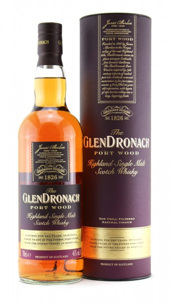 Glendronach 10 Port Wood
