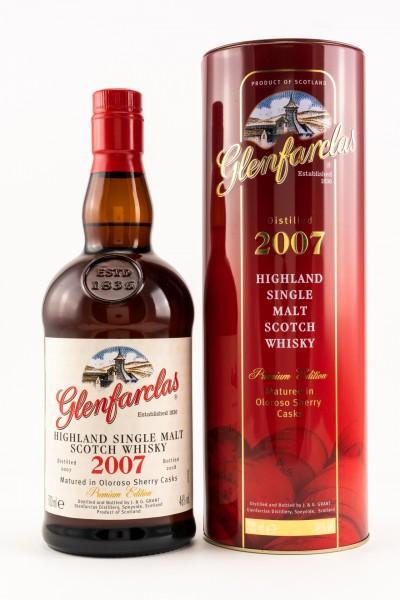 Glenfarclas 2007 - 2018 Oloroso Sherry Casks