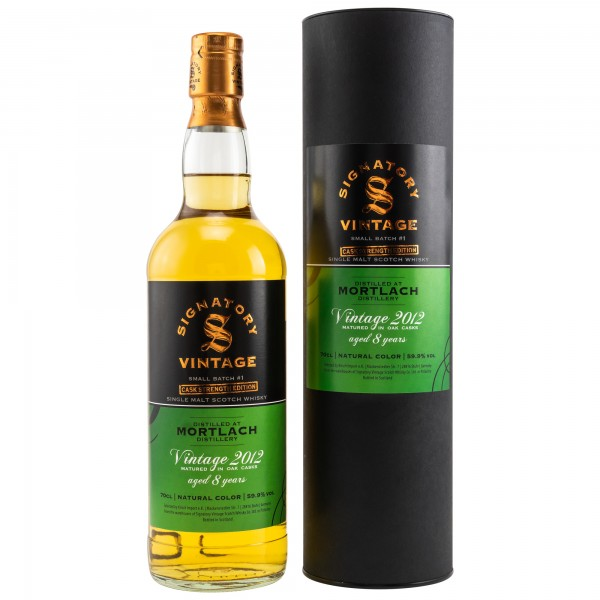 Mortlach 8 Jahre Vintage 2012 Small Batch Edition #1 Cask Strength