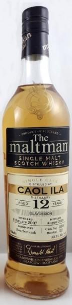 Caol Ila 12 Jahre 2007 - 2019 Maltman