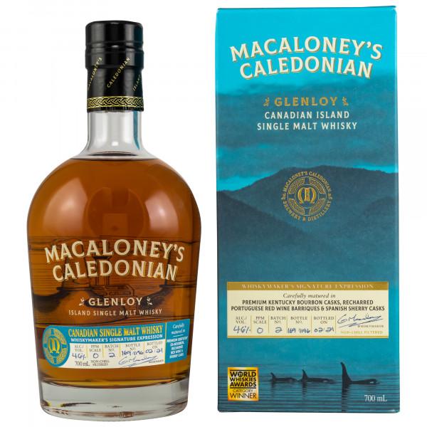 Glenloy – Signature Expression Batch 2 Macaloney's Caledonian Canadian Single Malt Whisky