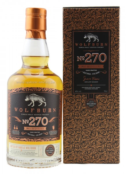 Wolfburn No. 270 Small Batch Release