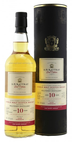 Pulteney 10 Jahre  Cask Collection A.D. Rattray 2007 / 2017